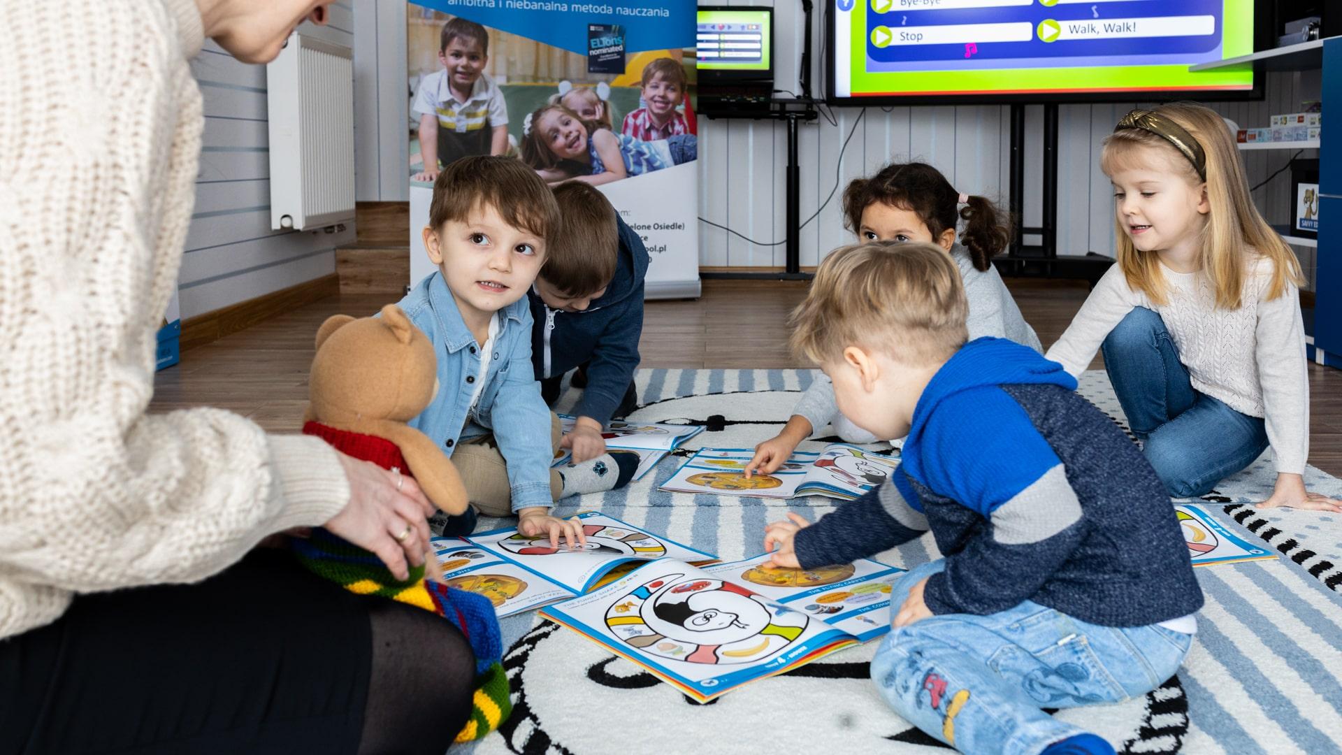 Angielski dla dzieci w wieku 2-7 lat Teddy Eddie